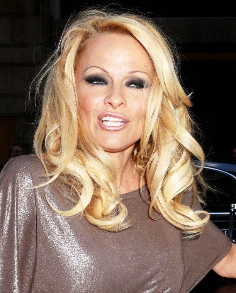 Pamela Anderson<br>PETA Honorary Pamela Anderson Promotes A New Bill to Replace New York City's Horse Drawn Carriages