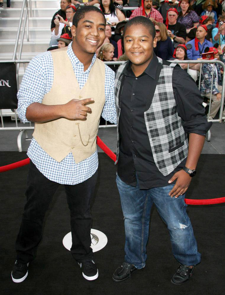 Chris Massey, Kyle Massey<br>'Pirates of the Caribbean: On Stranger Tides' World Premiere