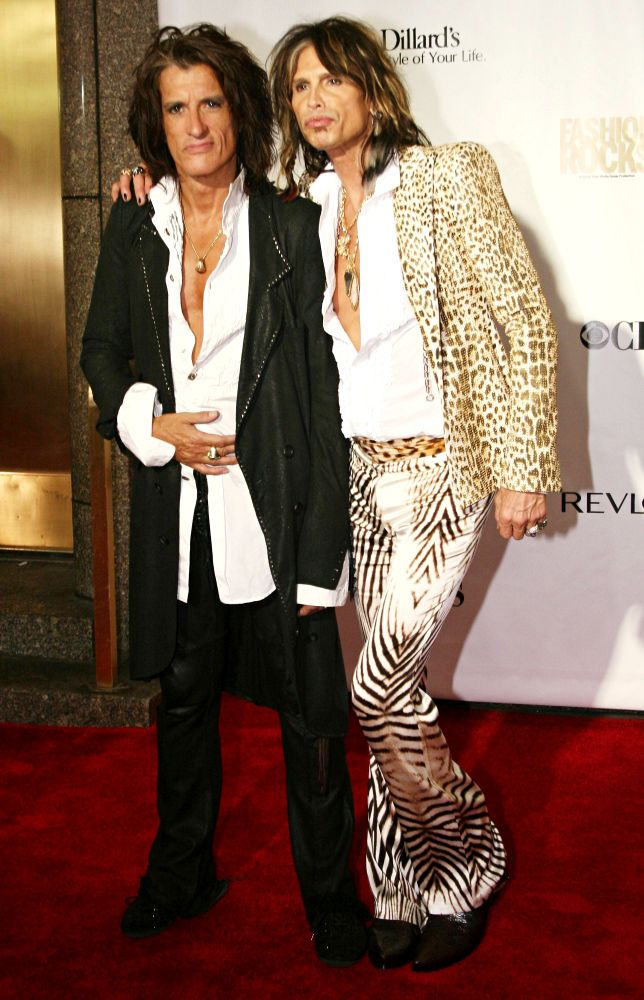 Joe Perry, Steven Tyler
