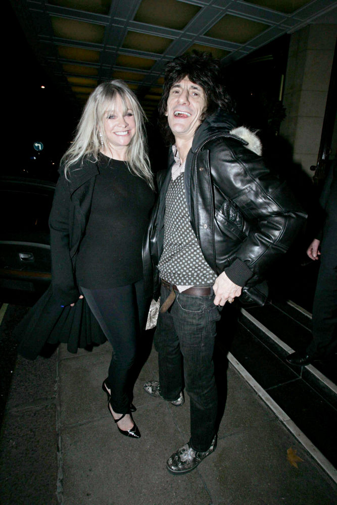 Ronnie Wood, Jo Wood