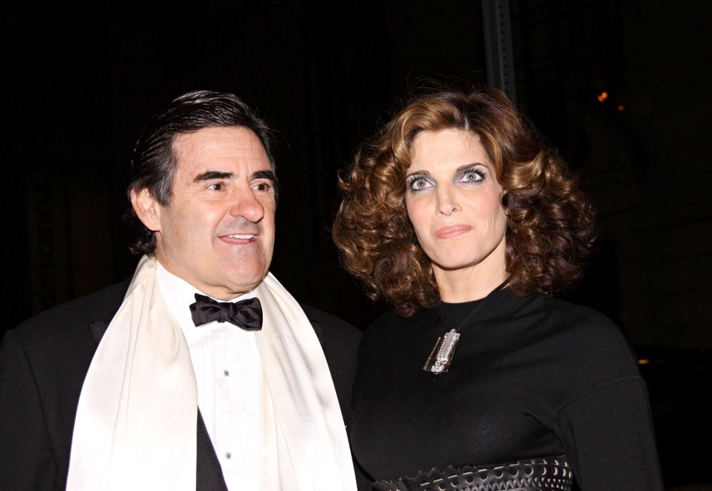 Stephanie Seymour, Peter Brant