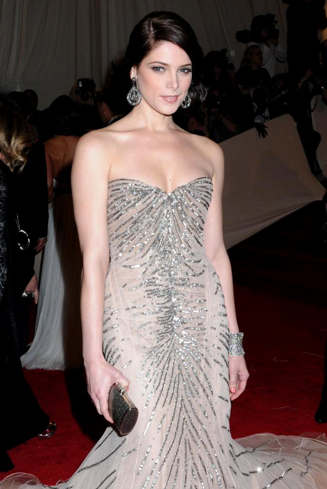 Ashley Greene<br>Alexander McQueen: Savage Beauty Costume Institute Gala