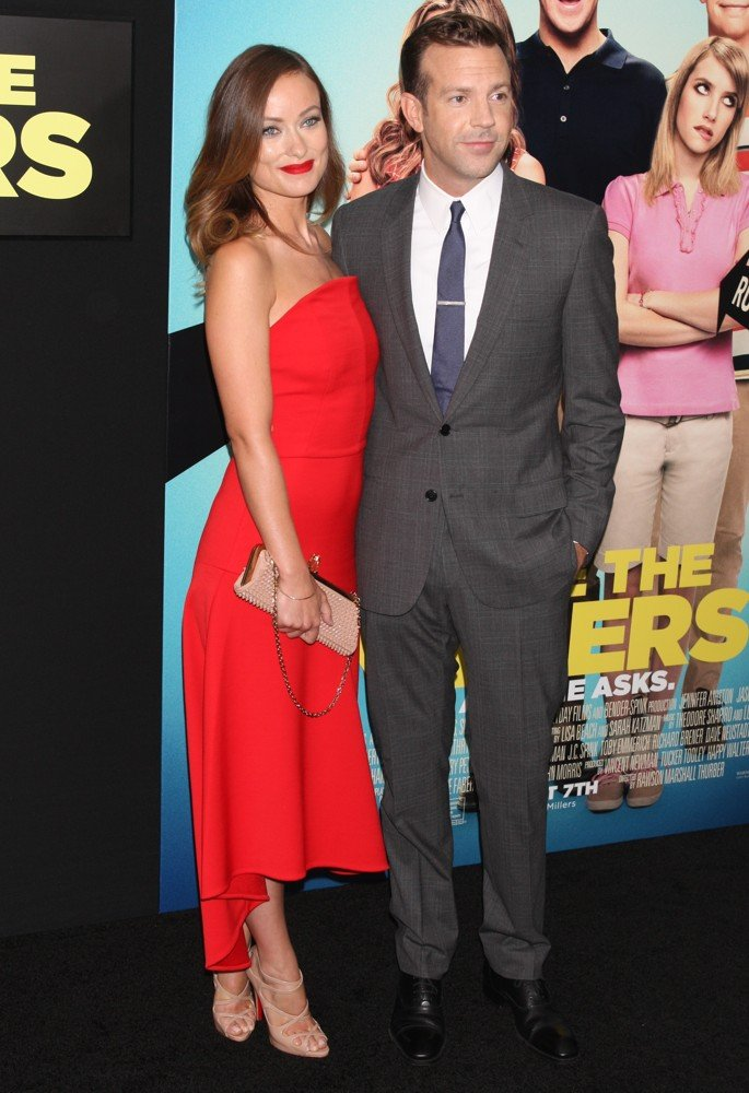 Olivia Wilde, Jason Sudeikis<br>We're the Millers World Premiere