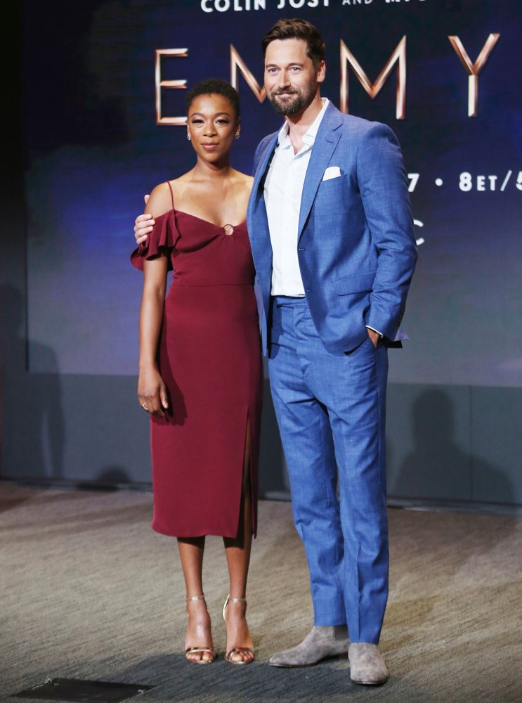 Samira Wiley, Ryan Eggold<br>70th Emmy Awards Nominations Announcement