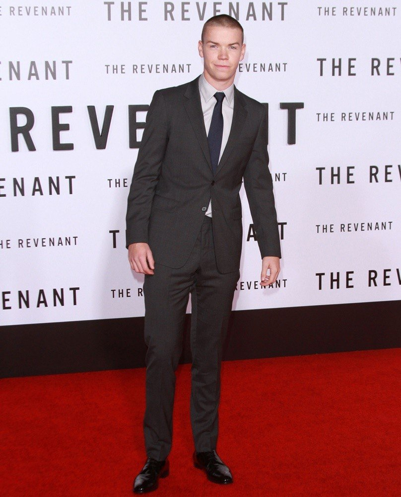 Will Poulter<br>Premiere of 20th Century Fox's The Revenant - Red Carpet Arrivals