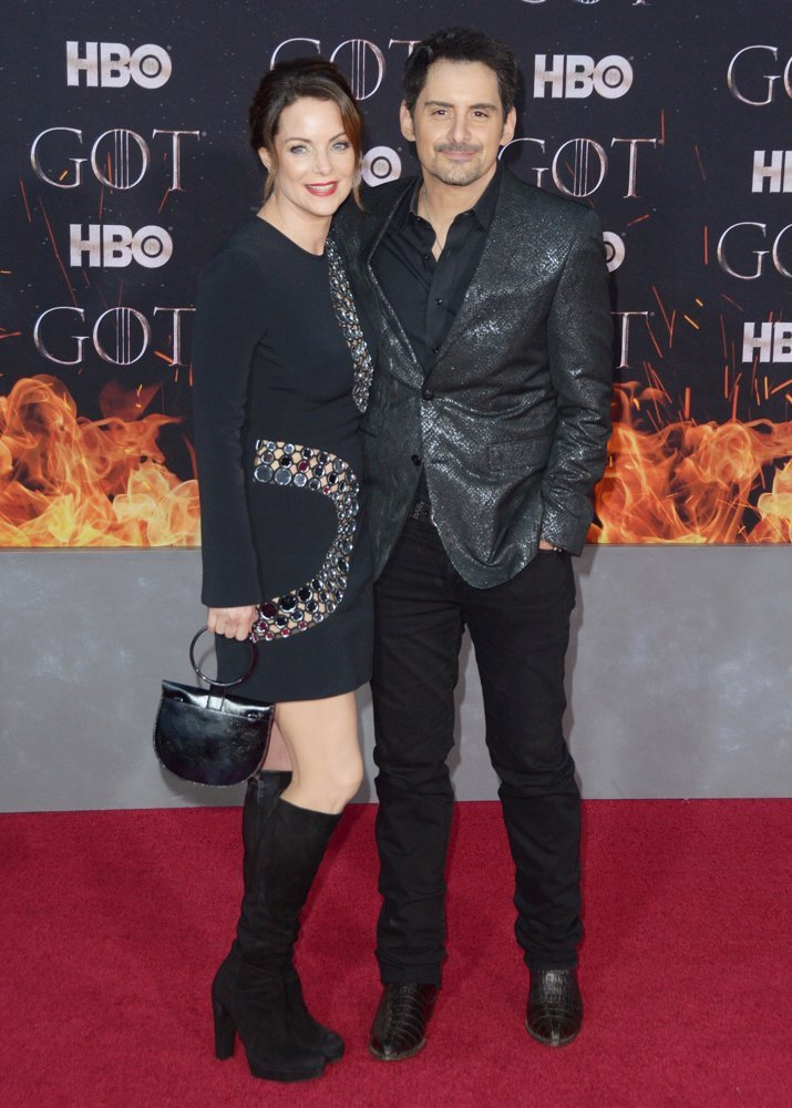 Kimberly Williams, Brad Paisley<br>Game of Thrones Season 8 Premiere - Red Carpet Arrivals