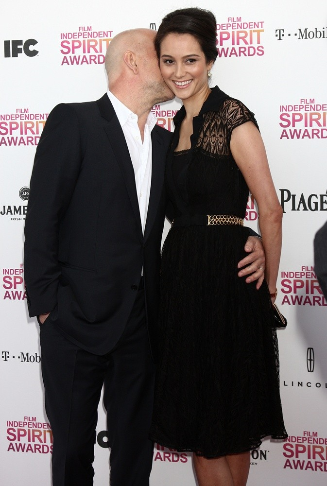 Bruce Willis, Emma Heming<br>2013 Film Independent Spirit Awards - Arrivals