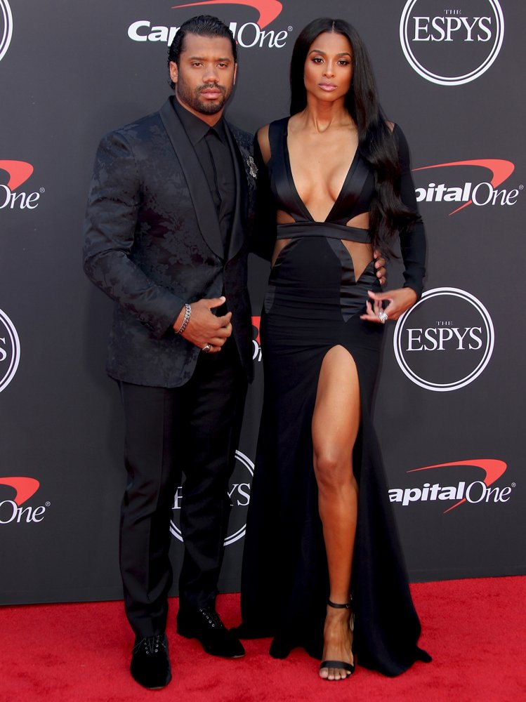 Russell Wilson, Ciara<br>The ESPYs 2019 - Arrivals