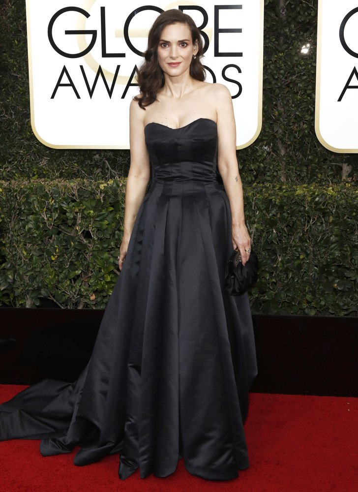 Winona Ryder<br>74th Golden Globe Awards - Arrivals