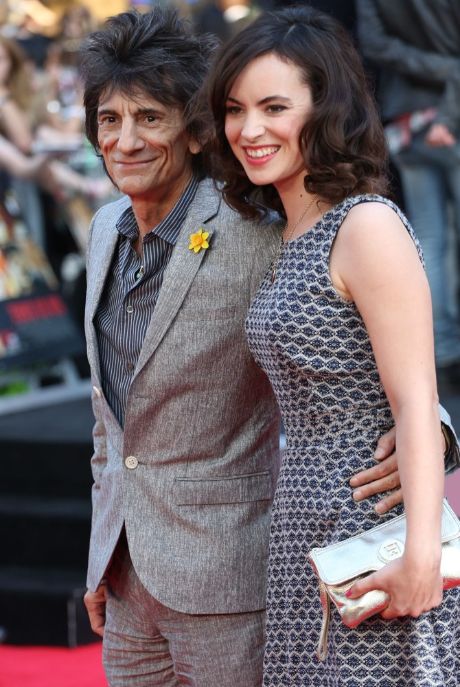 Ronnie Wood, Sally Humphreys<br>World Premiere of One Direction: This Is Us - Arrivals