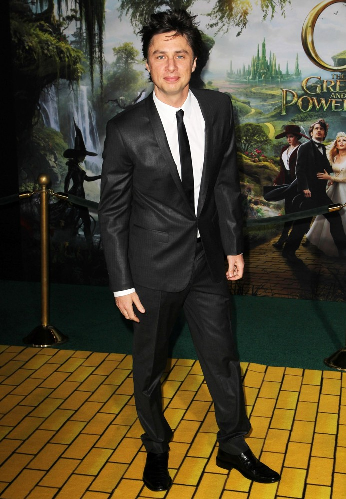 Zach Braff<br>Oz: The Great and Powerful - Los Angeles Premiere - Arrivals