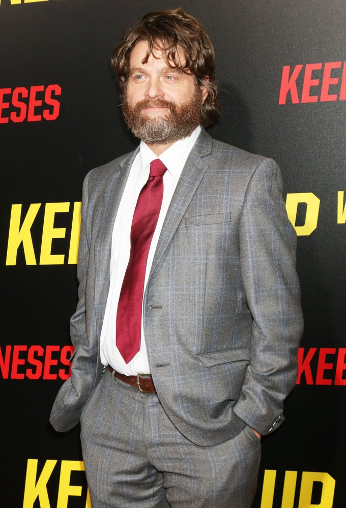 Zach Galifianakis<br>Los Angeles Premiere of Keeping Up with the Joneses - Arrivals