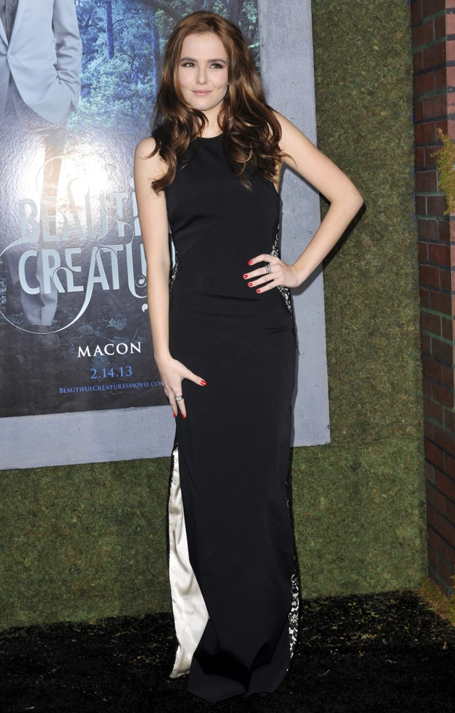 Zoey Deutch Picture 7 - Beautiful Creatures Los Angeles ... Zoey Deutch Beautiful Creatures Premiere